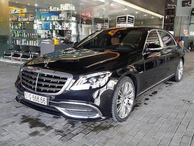 """Bắt gặp Mercedes-Maybach biển """"ngũ quý"""" 6 sang chảnh dạo phố Sài Gòn a1"""