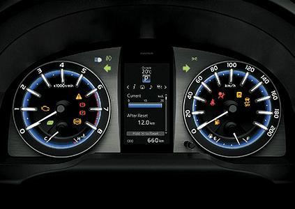 Đánh giá xe Toyota Innova Venturer 2019: Cụm đồng hồ lái Optitron a1