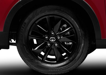 Đánh giá xe Toyota Innova Venturer 2019: La-zăng 5 chấu 16 inch 1