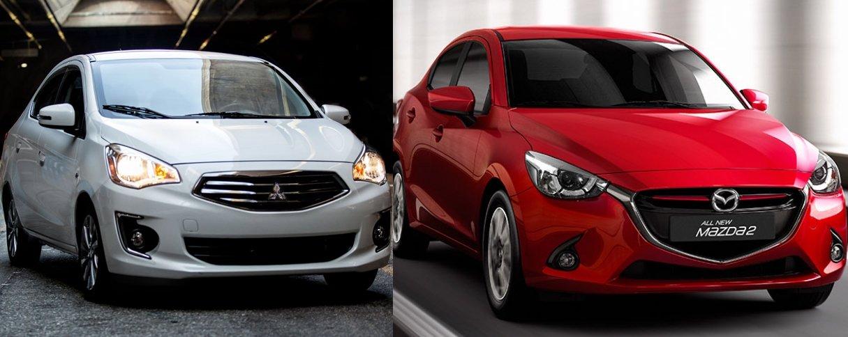 Có tầm 500 triệu đồng, nên mua Mitsubishi Attrage 2018 hay Mazda2 2018? 28.