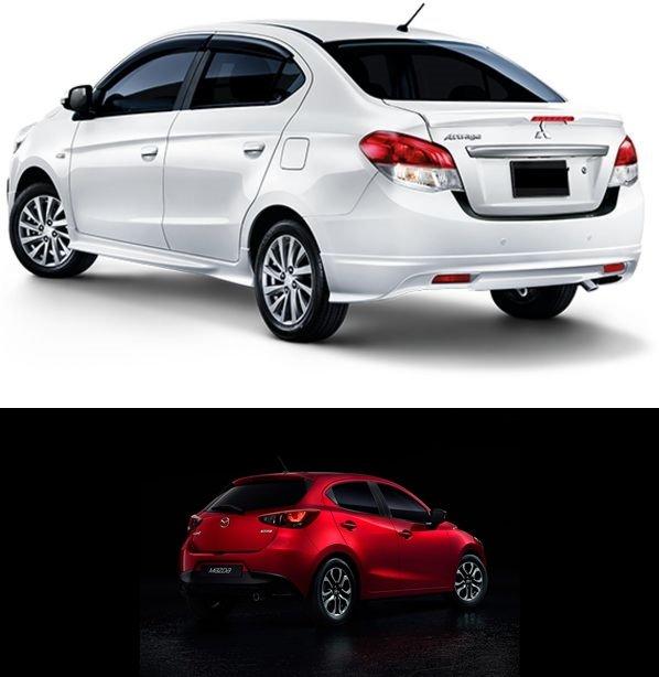 Có tầm 500 triệu đồng, nên mua Mitsubishi Attrage 2018 hay Mazda2 2018? 15.