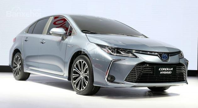 Ngoại thất Toyota Corolla 2020.