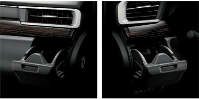 Đánh giá xe Toyota Innova Venturer 2019: Giá giữ ly phía trước 1