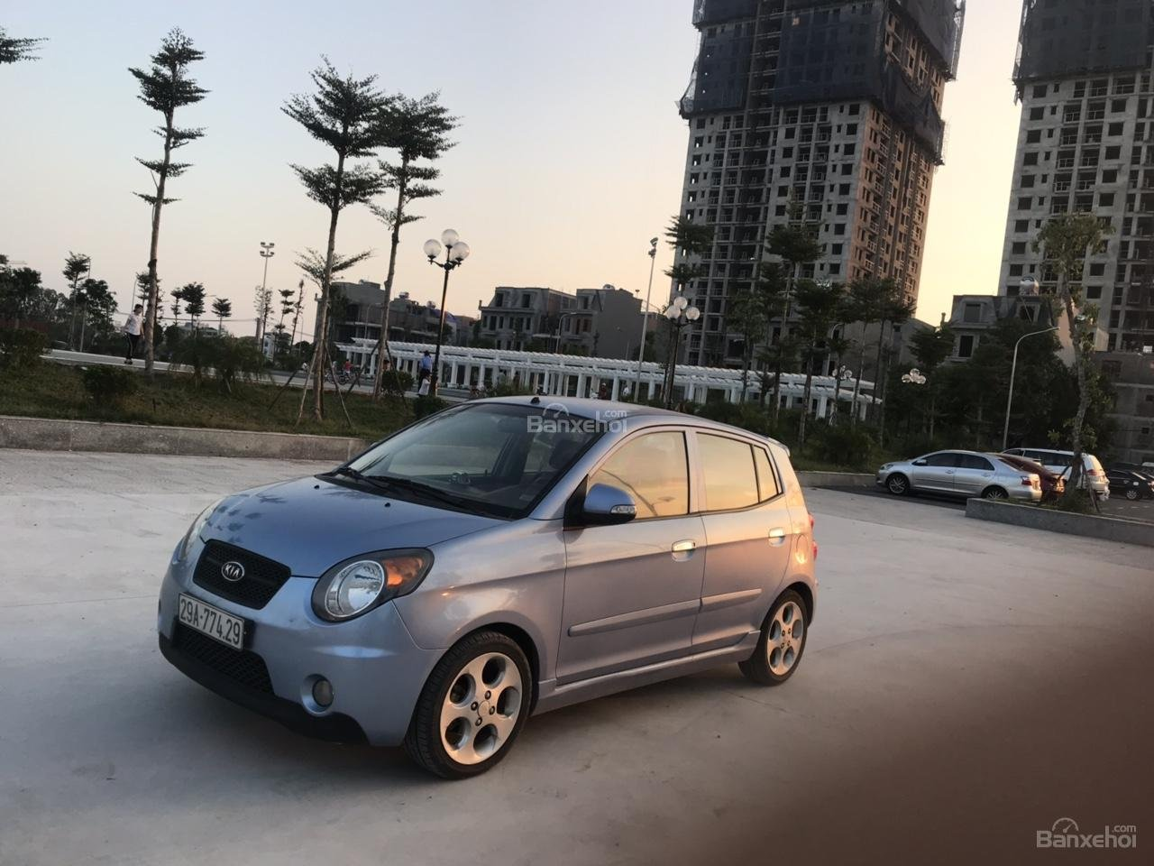 Bán Kia Morning 2008, màu xanh, nhập khẩu, chính chủ giá tốt - Mr Quân 094 711 6996-1