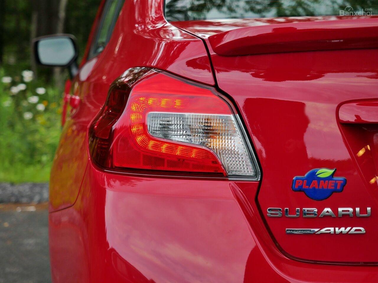 Đánh giá xe Subaru WRX 2019 bản Mỹ - đuôi - 3