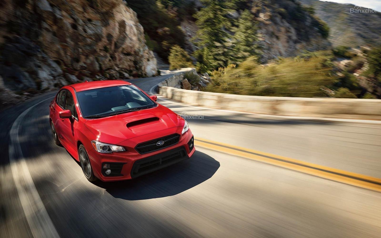 Đánh giá xe Subaru WRX 2019 bản Mỹ - mở img - 1