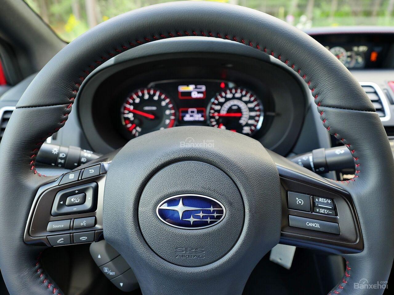 Đánh giá xe Subaru WRX 2019 bản Mỹ - màn hình - 1b