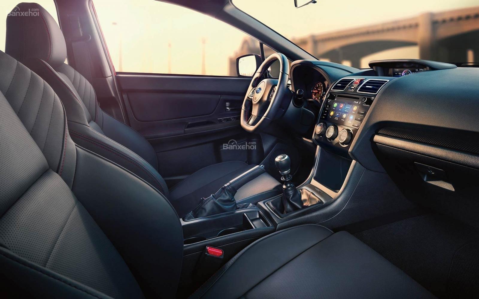 Đánh giá xe Subaru WRX 2019 bản Mỹ - bảng - 1a