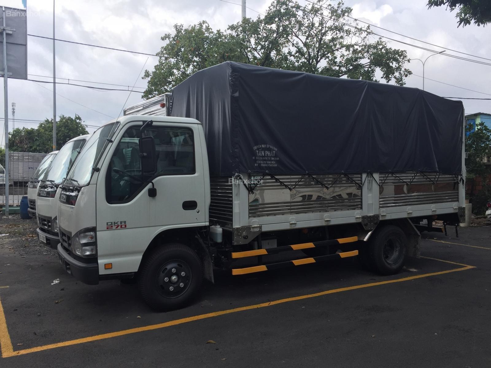 Bán xe tải Isuzu QKH 1.9, màu trắng 2018, giá rẻ, cạnh tranh-2