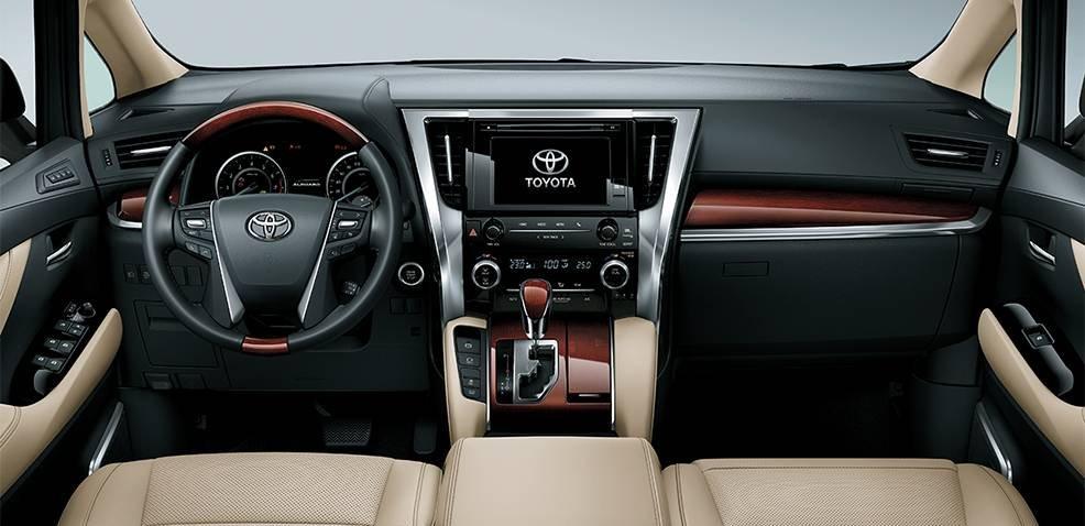 Toyota Alphard Luxury 2019 sở hữu khoang nội thất rộng rãi, sang trọng và đẳng cấp a1