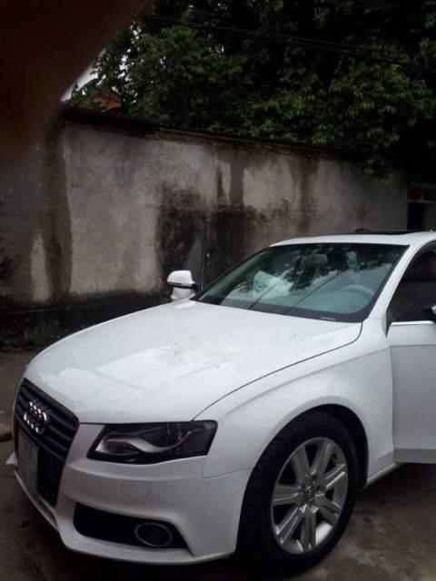 Bán xe Audi A4 năm sản xuất 2009, màu trắng, xe nhập-3