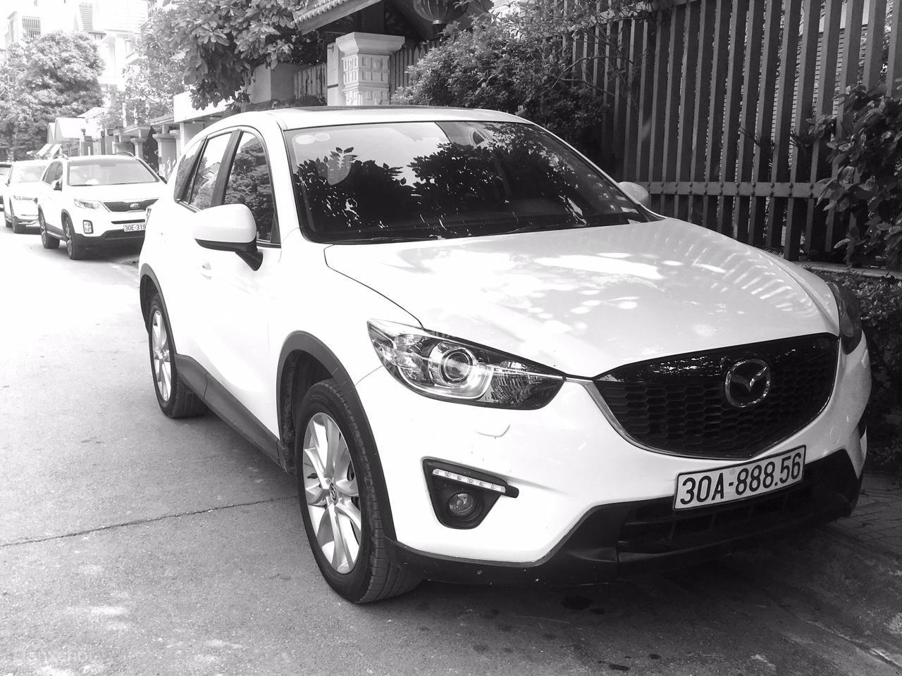 Cần bán Mazda CX 5 AWD đời 2015, màu trắng (1)