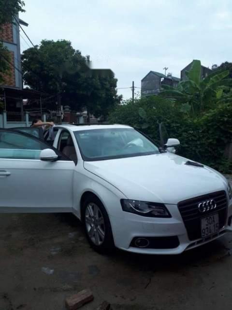 Bán xe Audi A4 năm sản xuất 2009, màu trắng, xe nhập-4