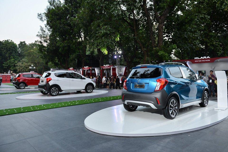 Đánh giá xe VinFast Fadil 2019-2020: Xe chỉ có một động cơ duy nhất.