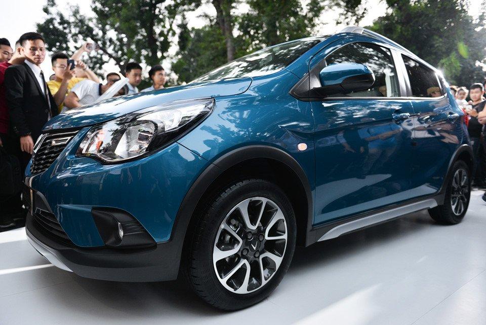 Đánh giá xe VinFast Fadil 2019-2020: Thân xe khá đơn giản.
