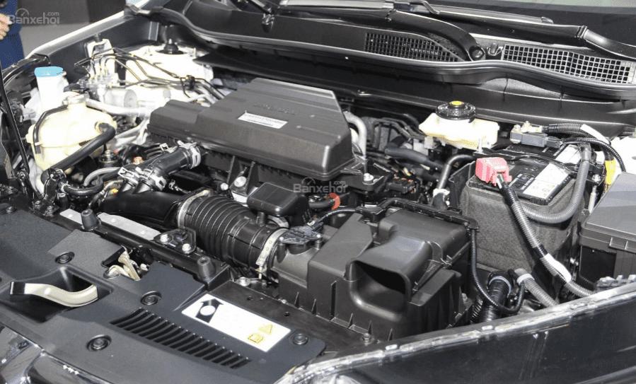 Honda CR-V 1.5 L và Nissan X-Trail V-Series 2.5 SV Luxury về động cơ 1