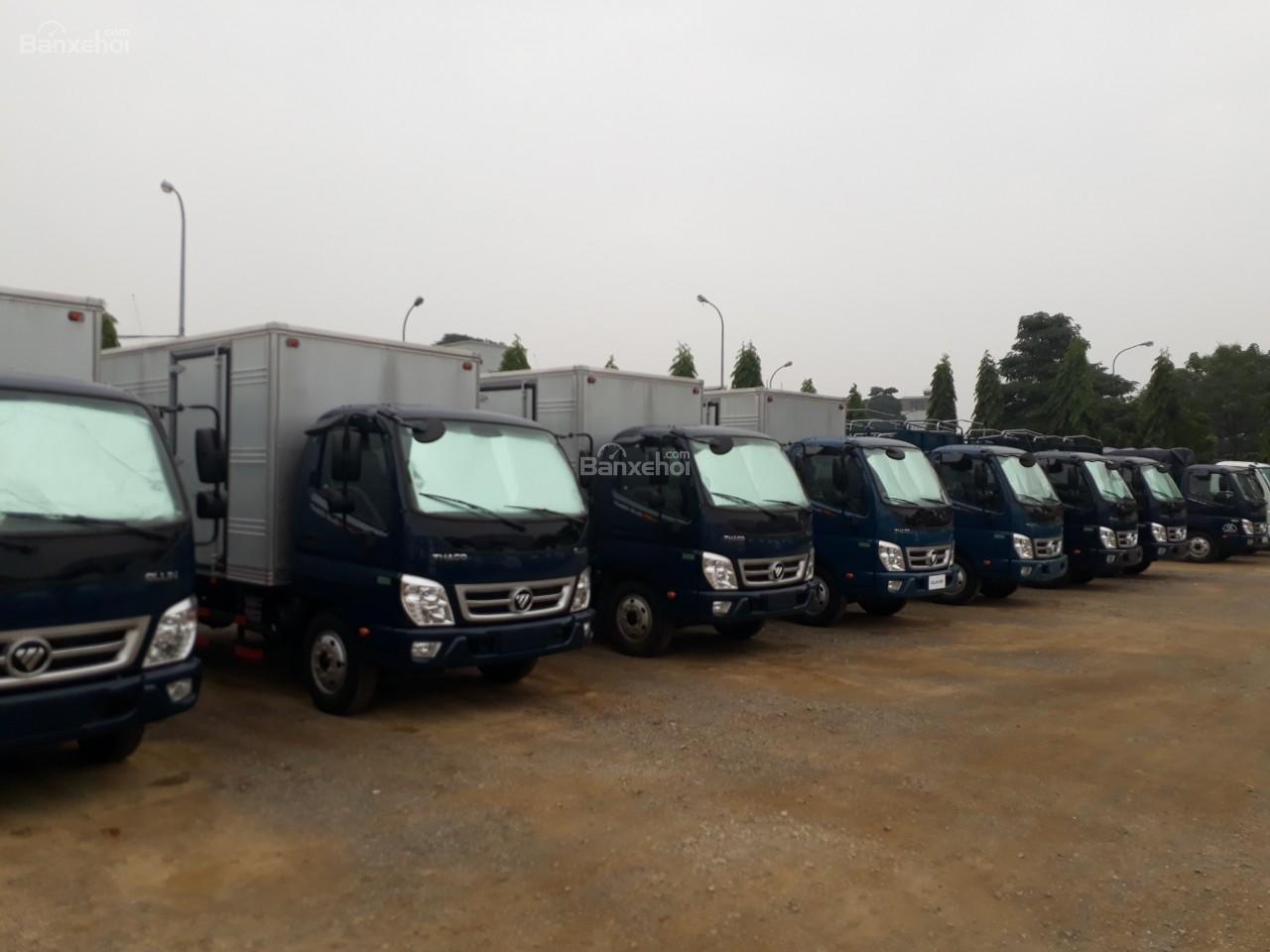 Bán xe tải Ollin350 tải trọng 3.5/2.15 tấn Trường Hải ở Hà Nội-4