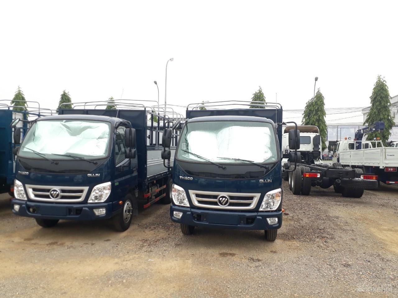 Bán xe tải Ollin350 tải trọng 3.5/2.15 tấn Trường Hải ở Hà Nội-1