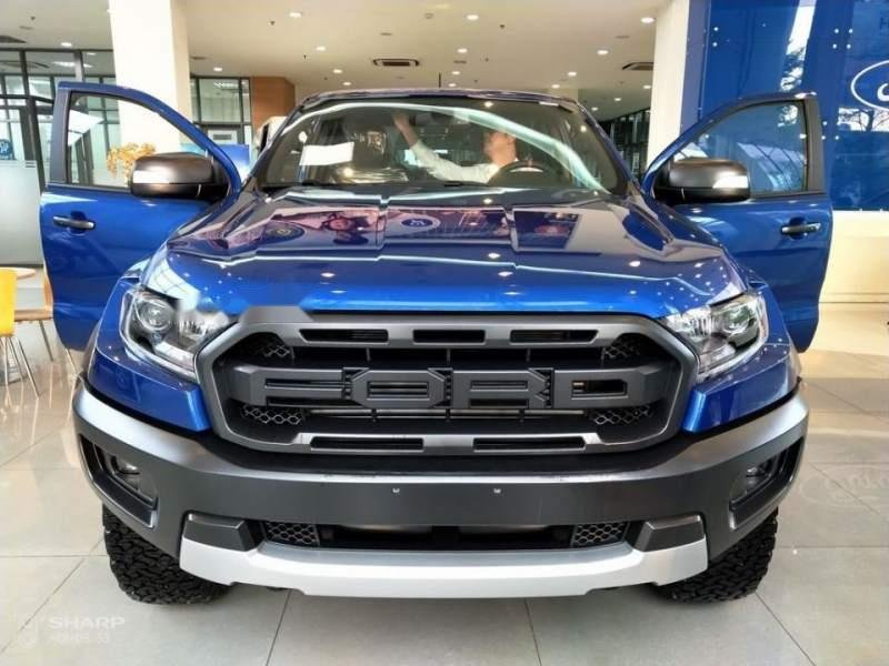Bán ô tô Ford Ranger sản xuất năm 2018, màu xanh lam, nhập khẩu-0
