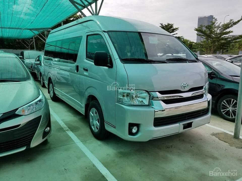 Bán Toyota Hiace 2018 nhập khẩu - 15 chỗ, giá cạnh tranh, nhiều ưu đãi, liên hệ 0902.1717.20-1