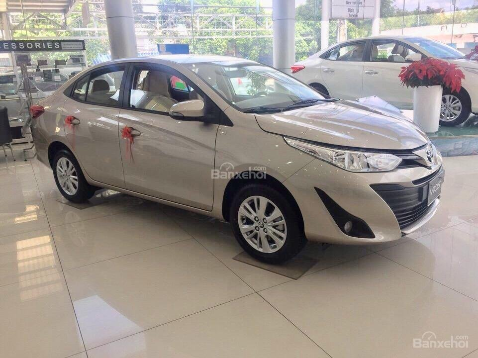 Toyota Bình Tân - Vios E số tựđộng - tặng 1 năm bảo hiểm thân vỏ -Trả trước từ 150tr-1