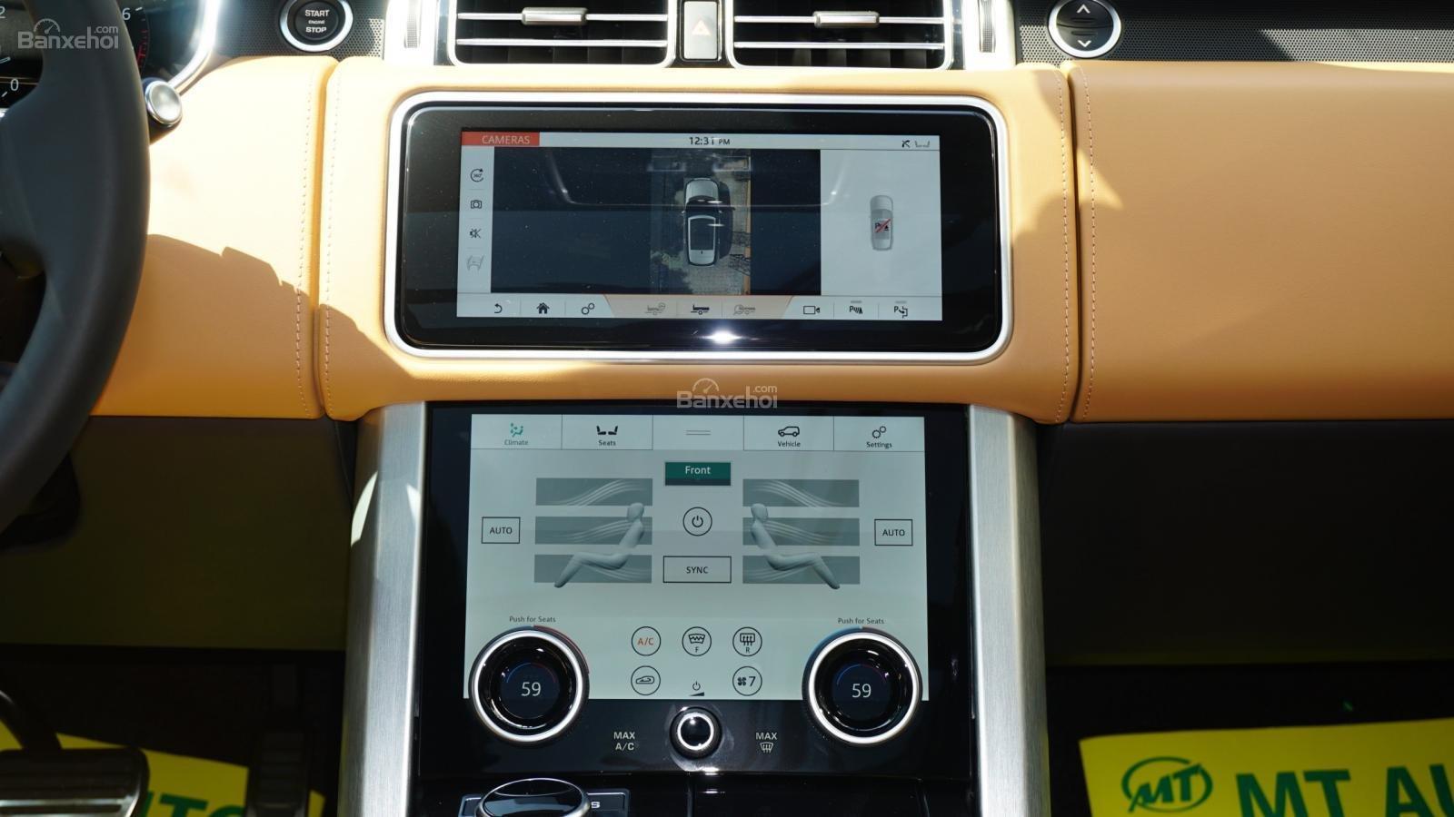 Cần bán LandRover Range Rover Autobio LWB 5.0 2018, màu đen, xe nhập-11
