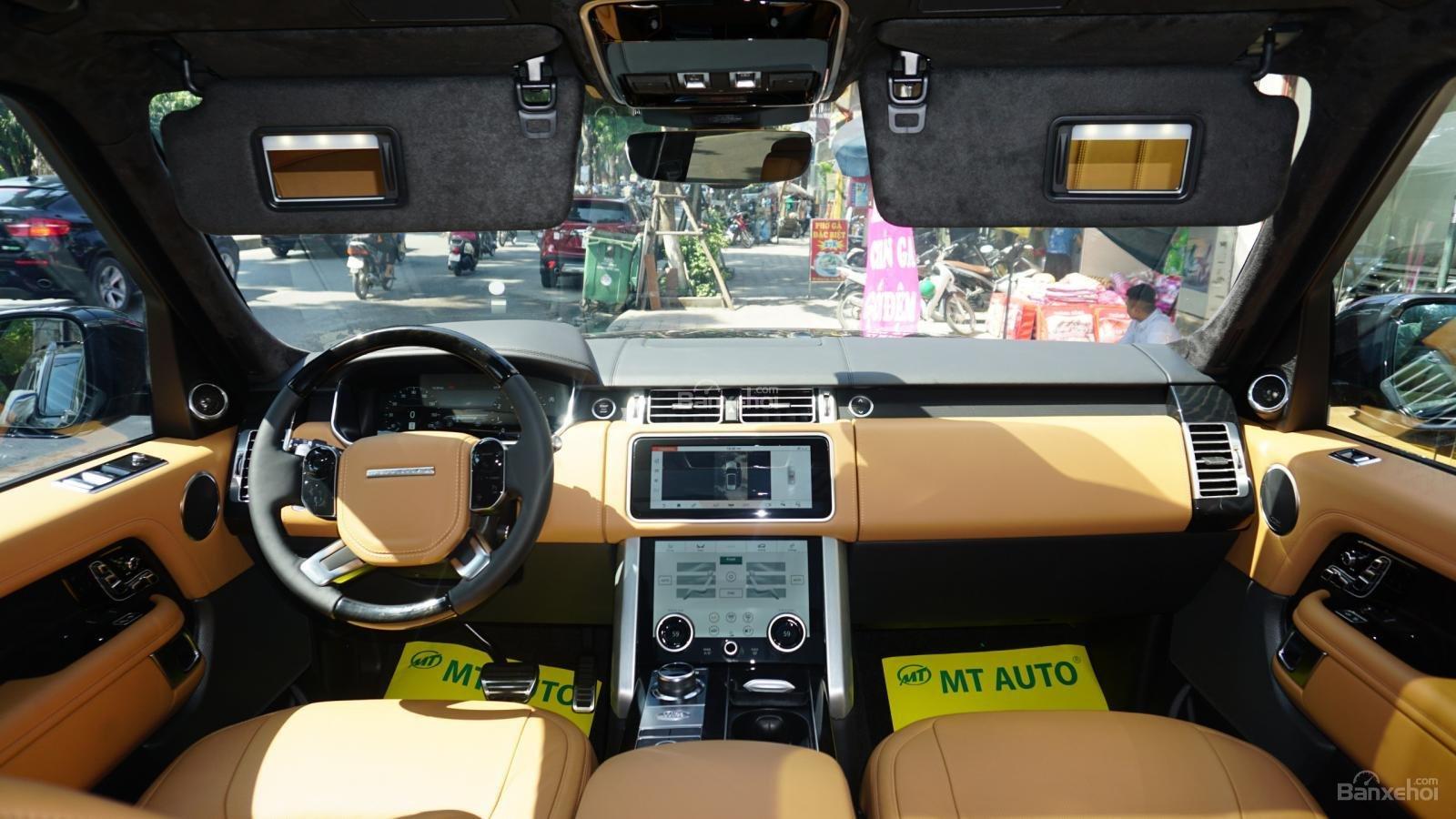 Cần bán LandRover Range Rover Autobio LWB 5.0 2018, màu đen, xe nhập-20