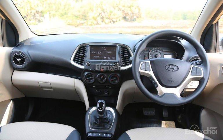 Khoang nội thất Hyundai Santro 2019 bản Ấn Độ..
