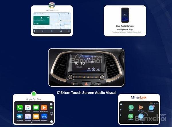 Hệ thống thông tin giải trí tiện ích trên Hyundai Santro ...