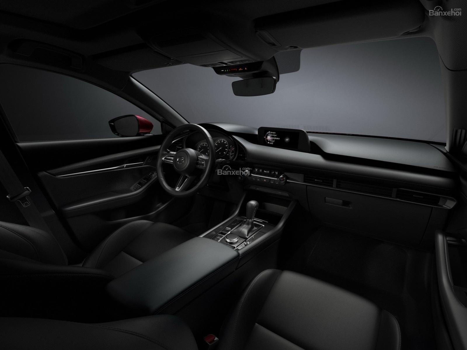 Ảnh nội thất Mazda 3 2019 1a