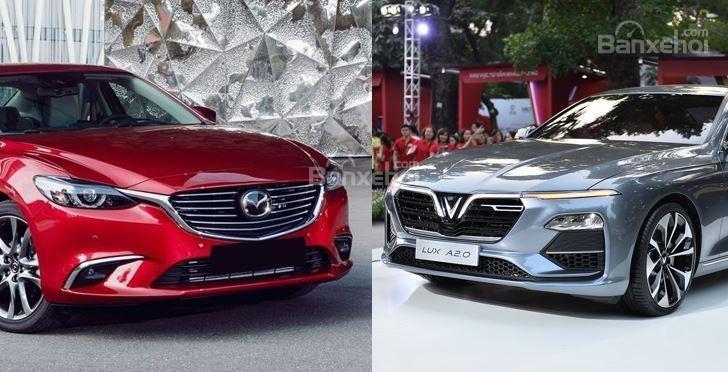 So sánh VinFast LUX A2.0 và Mazda 6 ...