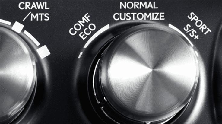 Đánh giá xe Lexus LX 570 2019: Nút bấm lựa chọn chế độ lái 1