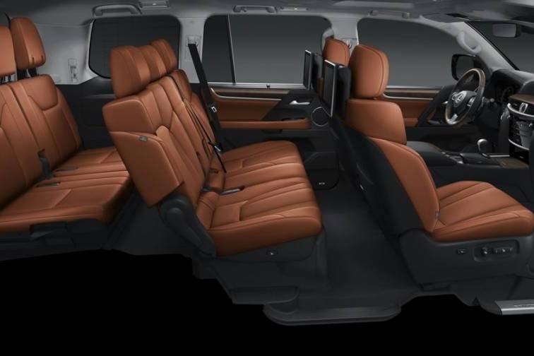 Đánh giá xe Lexus LX 570 2019 về thiết kế ghế ngồi a3