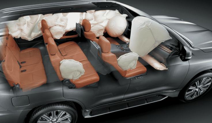 Lexus LX 570 2019 sở hữu 10 túi khí và hàng loạt tính năng an toàn hiện đại a1