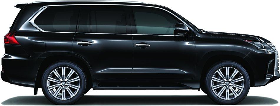 Đánh giá xe Lexus LX 570 2019 về thiết kế thân xe a1
