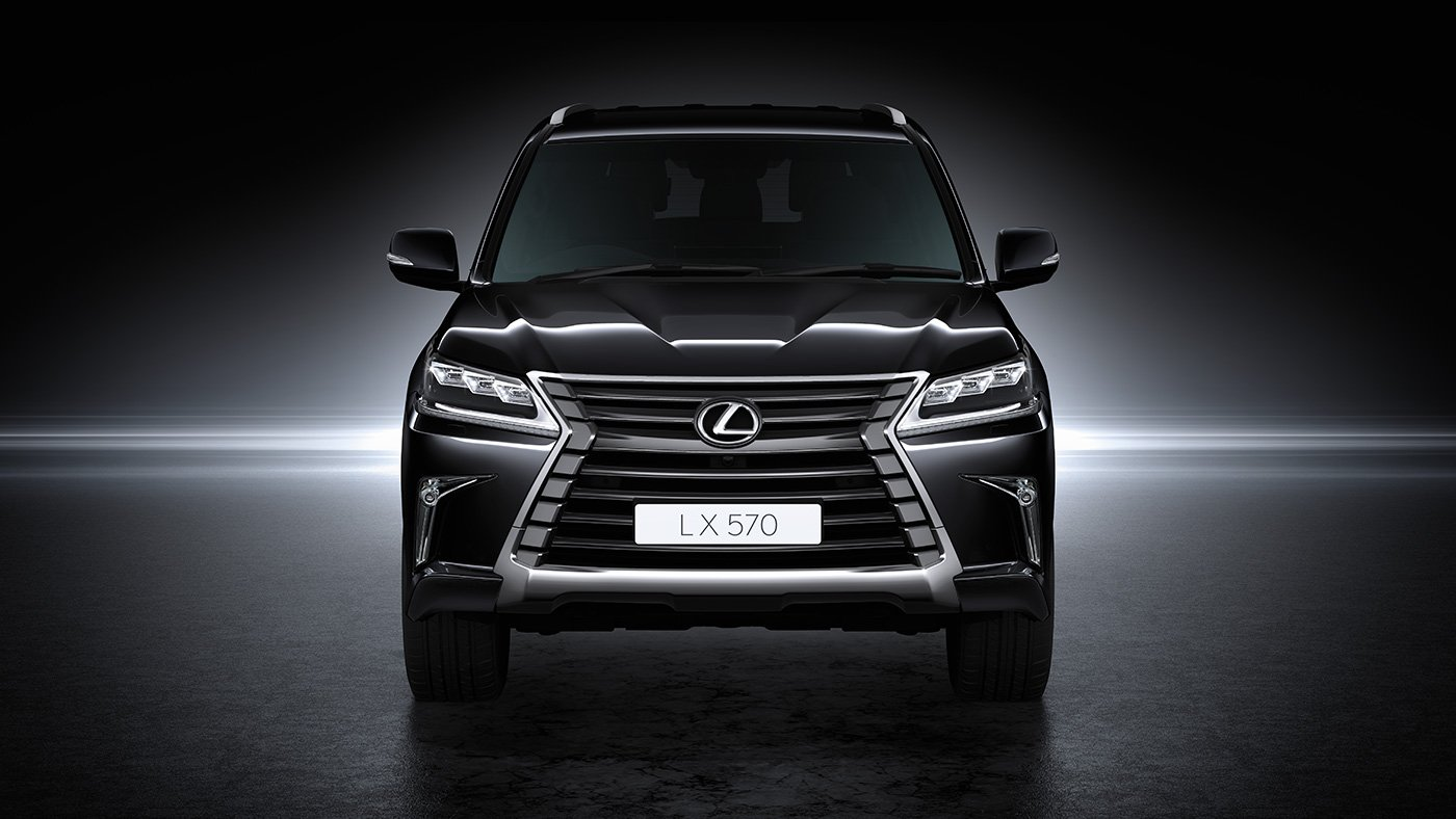 Đánh giá xe Lexus LX 570 2019 về thiết kế đầu xe a1