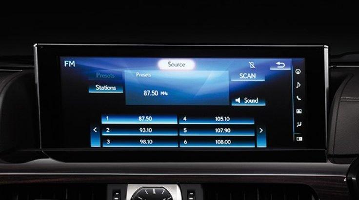 Đánh giá xe Lexus LX 570 2019: Màn hình giải trí 1