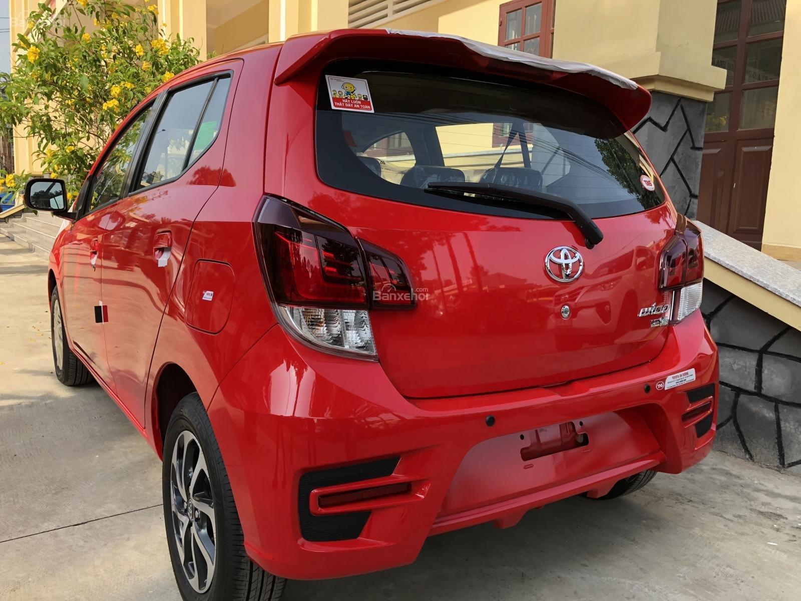 [Toyota An Sương] Toyota Wigo, đỏ nhập khẩu Indonesia-100tr giao ngay-LH: 0907.03.03.94-5
