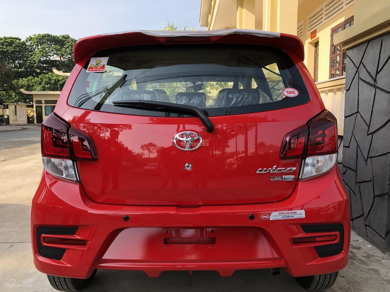 [Toyota An Sương] Toyota Wigo, đỏ nhập khẩu Indonesia-100tr giao ngay-LH: 0907.03.03.94-6
