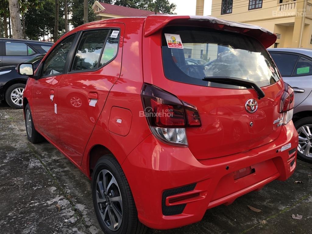 [Toyota An Sương] Toyota Wigo, đỏ nhập khẩu Indonesia-100tr giao ngay-LH: 0907.03.03.94-8