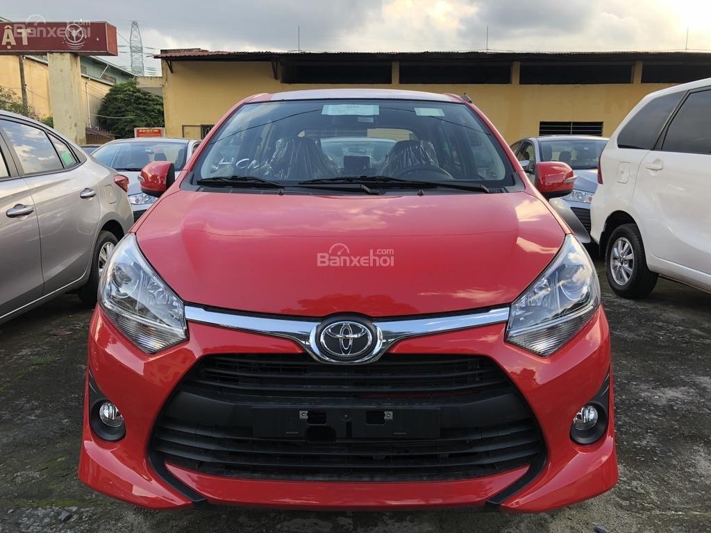[Toyota An Sương] Toyota Wigo, đỏ nhập khẩu Indonesia-100tr giao ngay-LH: 0907.03.03.94-0