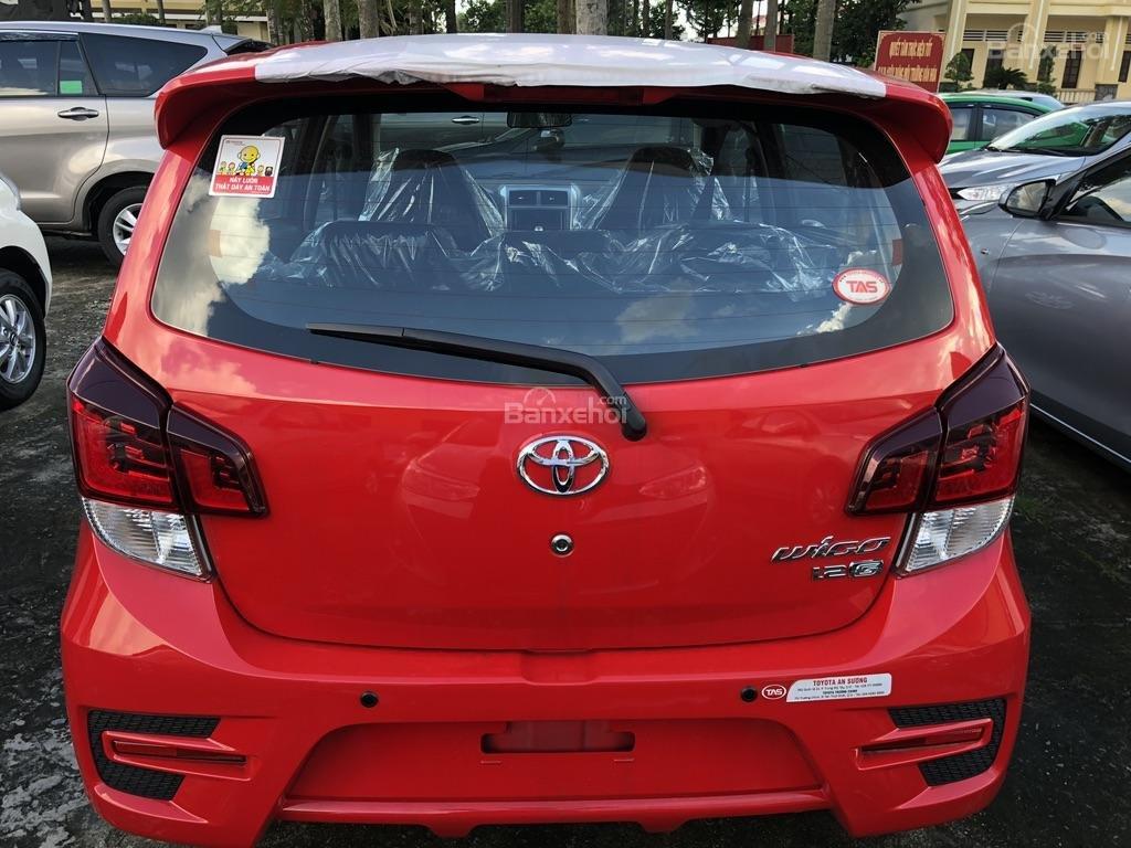 [Toyota An Sương] Toyota Wigo, đỏ nhập khẩu Indonesia-100tr giao ngay-LH: 0907.03.03.94-7