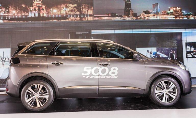 So sánh xe Peugeot 5008 2019 và Ford Everest 2019 về trang bị ngoại thất 5