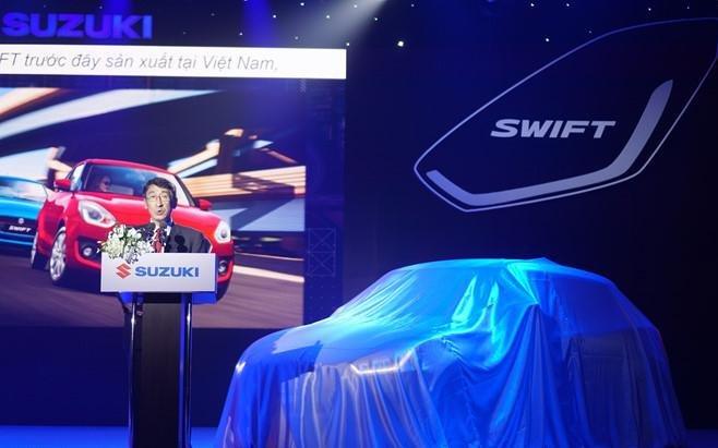 Suzuki Swift 2018 chính thức trình làng tại Việt Nam, giá 499 triệu đồng.