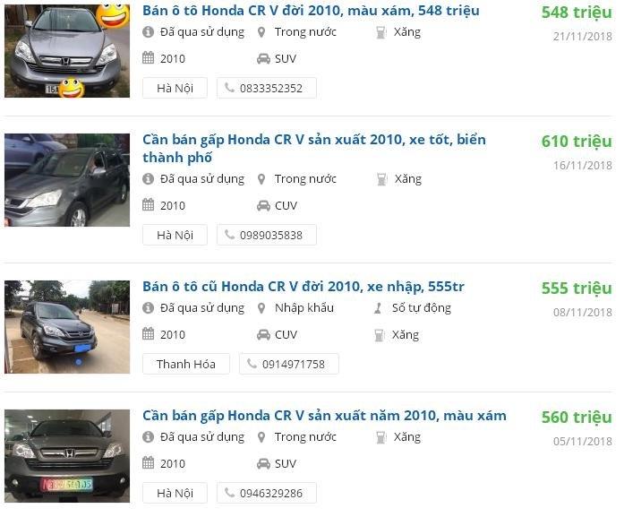 Top 5 SUV đã qua sử dụng đáng mua giá dưới 700 triệu đồng 17