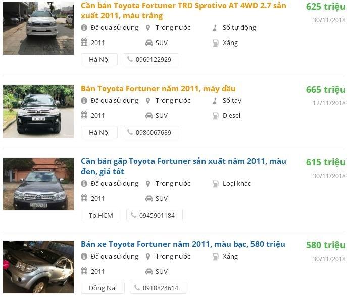Top 5 SUV đã qua sử dụng đáng mua giá dưới 700 triệu đồng 12