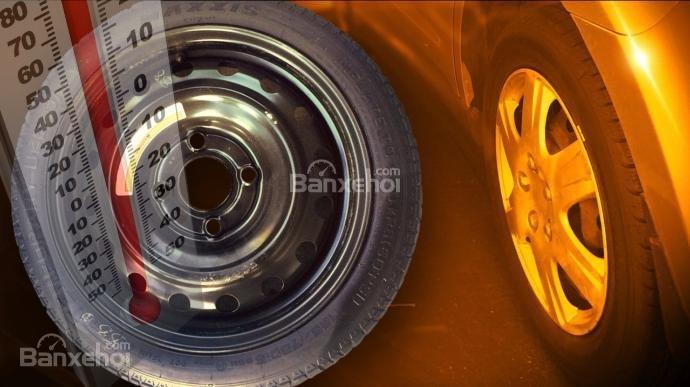 Chú ý lốp xe ô tô khi thời tiết giảm nhiệt độ - 1