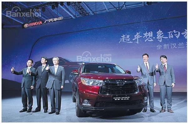 Doanh số xe Toyota dự đoán tăng tại Trung Quốc - 1