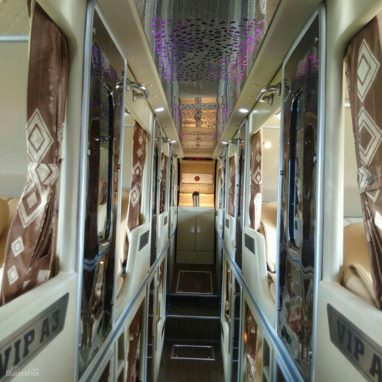 Bán xe Samco 22 giường víp, động cơ Isuzu Nhật Bản (4)