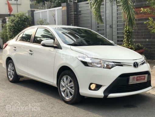 Bán xe Toyota Vios 1.5G AT đời 2017, màu trắng (3)
